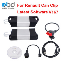 High Quality For Renault Can Clip Diagnostic Interface Latest Version V167 Can Clip For Renault Old & New Cars Multi-Language