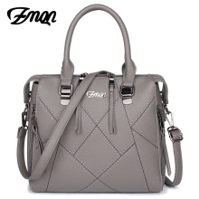 ZMQN Women Handbags Famous Brands Luxury Handbags Women Bags Designer PU Leather Stitching Crossbody Bags Of Ladies Bolsas B807