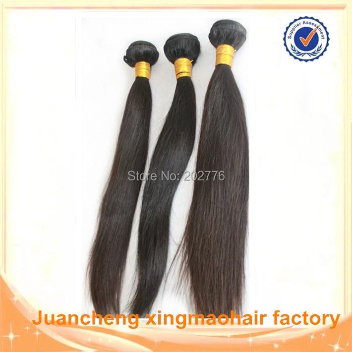 9A Russian Virgin Hair Straight Bundles 3pcs lot Unprocessed Virgin Russian Hair Extensions Natural Black Remy Human Hair Weave<br><br>Aliexpress