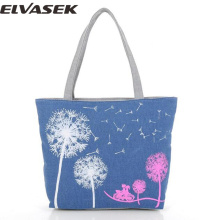 Elvasek free shipping women canvas handbags women messenger bags double shoulder bag handbag feminina bolsas pouches LS7394