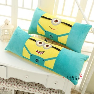New minion pillow one people Or two people Sleeping minion pillow Despicable Me Minions Pillow Plush Cushion Handwarmer<br><br>Aliexpress