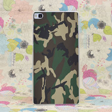164HJ Camouflage Pattern Camo Army Hunter Hard Case Cover for Huawei P6 P7 P8 P9 Lite Plus Honor 6 7 4C 4X G7
