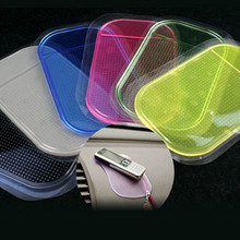 1PCS HOT Portable practical Silicone Skin Mat Car sticky pad Antiskid Mat Non-slip Auto Anti Slip Cell Phone GPS Mat Holder