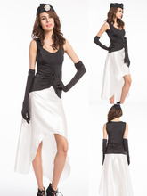 2015 party costume ZY564 1920s costume  Ladies Fancy Dress Costume Roaring 20s Charleston Outfit