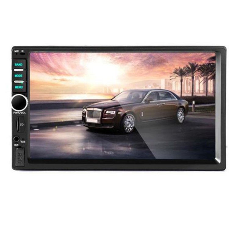 Bluetooth Car Stereo Audio In-Dash Aux Input Receiver SD/USB MP5 Player@318<br><br>Aliexpress