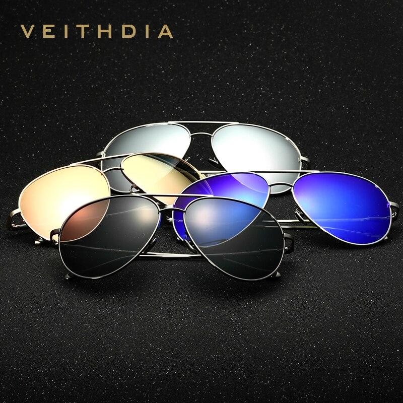 VEITHDIA Brand Fashion Unisex Sun Glasses Polarized Coating Mirror Driving Sunglasses Oculos Male Eyewear For Men/Women 3360<br><br>Aliexpress