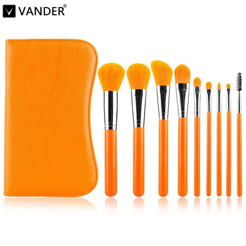 Professional makeup brushes set