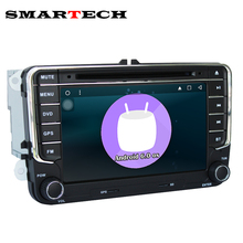 SMARTECH Autoradio 2 Din VW RCD300 Android Car DVD Player For Volkswagen POLO PASSAT B6 EOS Golf Bora CanBus Wifi GPS Radio RDS(China)