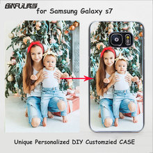 BiNFUL Unique Personalized Customized DIY Printing Transparent Clear Cover Case for Samsung Galaxy s8 S8Plus s6 s7edge Note8(China)