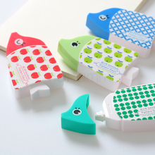 Cute Korean Kawaii Japanese Fish Goldfish Correction Tape Pen Office School Supplies Stationery 5mm x 6m 4 Colors(China)