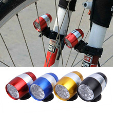 New Bicycle Lights Mini 6 LEDs Waterproof Bike Head Light Flashlights Bicycle Tail Light with Mount Holder Bike Accessories