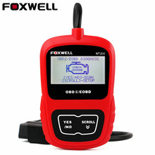 FOXWELL NT200 Automotive OBD II Scanner Obd2 Fault Code Reader Engine Trouble Codes Diagnostic Scan Tool OBD Diagnostic Scanner(China)