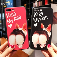 Buy KISSCASE 2018 NEW Cute Case iPhone 6 7 Soft IMD Cases iPhone 8 Plus 7 6s 6 Plus Case Fashion Mobile Phone Cover Capinhas for $3.99 in AliExpress store