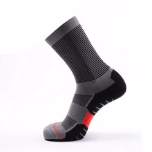 Buy 1 Pair Professional Coolmax Quick Dry Mens (39-44) Jogging Socks Thick Compression (us7-10) Running Sock Basketball Sport Meias for $8.88 in AliExpress store