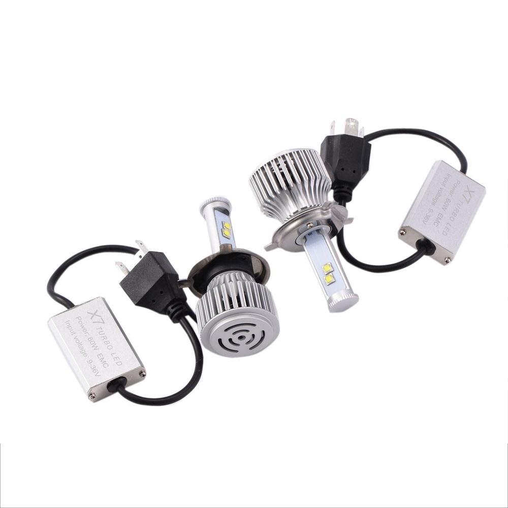80W/Set Headlight 12V LED Lights H1/H3/H4/H7/H11/H13/9005/9006 Bulb Lamp<br><br>Aliexpress