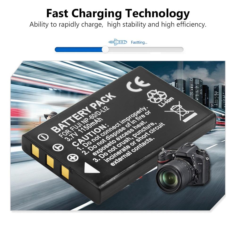 Cargador de Batería para Ricoh Caplio 300G 400G G3 G4 amplia RR10 RR30 DB-40 BJ-2 BJ-2e