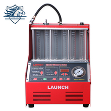 100% Original Launch 6 Cylinder CNC602A Ultrasonic FUEL Injector Cleaner&Tester with English Panel 220V/110V Launch CNC-602A(China)