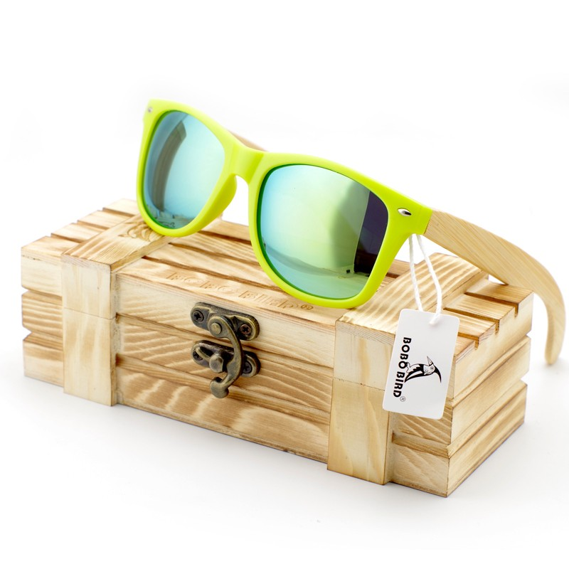 BOBO BIRD Men and Women Luxury Ladies Bamboo Legs Sunglasses Polarized Sun Glasses for Women with Wood Gift Box Oculos Feminino<br><br>Aliexpress