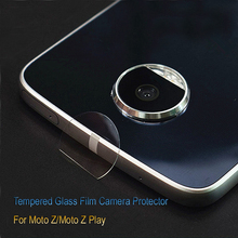 2pcs Clear Camera Lens Tempered Glass for Moto Z/Z play/Z2 Play Back Phone Camera Screen Protector Film for Moto G5/G5 Plus