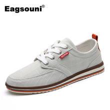 Plus Size Casual Men Shoes Hemp Canvas Shoes Comfortable and Breathable Footwear(China)