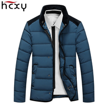 2016 Fashion Popular Men Parka Mens Coat Brand Clothing Winter Jackets Mens Contrast Color Jackets Casual Coats Large size M-5XL