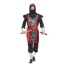 Fantasia Adult Disfraces Japanese ninja warrior Naruto costume Men Halloween Carnival Purim Stage performance Party Cosplay