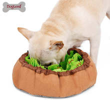 Dog Snuffle Mat Puppy Cat Pet Sniffing Pad Slow Feeding Bowel and Mat Puppy Activity Training Blanket Stress Release Bite Toys(China)