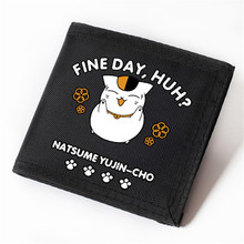 Children Wallets Natsume Yuujinchou Velcro Type Carteira Oxford Wallet Natsume's Book of Friends