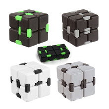 Newest Fidget Cube Hand Puzzles Magic Infinity Cube Fidget Toys For Autism and ADHD Child Adult Gift Environmental ABS