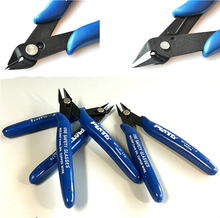 1pcs Electrical Wire Cable Cutters Cutting Side Snips Flush Pliers Nipper Hand Tools Herramientas(China)
