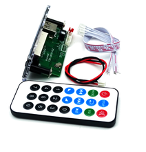 10Sets/lot Bluetooth MP3 Decoding Board Module w/ SD Card Slot / USB / FM / Remote Decoding Board Module M011(China)