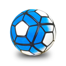 Hot 2017 Size 5 Size 4 High Quality PU Football Ball Anti-slip Granules Soccer Ball High Quality Soccer Ball For Match(China)