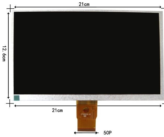 210*126*3mm 9 50pin Lcd display For LAZER ID9108CM matrix Screen Display Tablet Replacement Free Shipping<br><br>Aliexpress