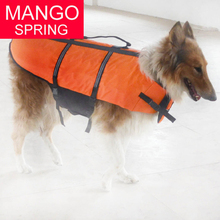 XXS-L Dog Safe Float Refective Vest for Safety Pet dog puppy Yellow Life Jacket safety clothes swimwear for small medium dog pet