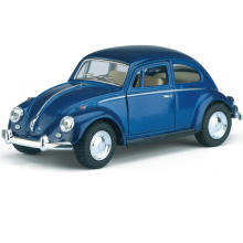 KiNSMART Vintage Car Styling VW 1967 Classical Beetle 1/32 Alloy Retro Diecast Toy Vehicle Model Collection New Year Xmas Gift(China)