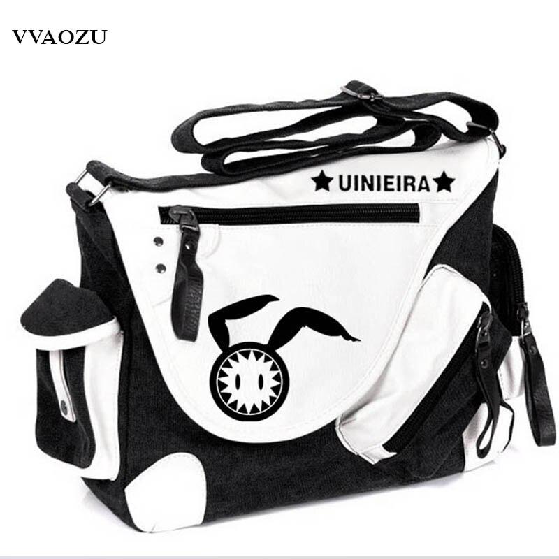 Hot Anime World Conquest Zvezda Plot Students Messenger Bags Canvas School Shoulder Bag<br>