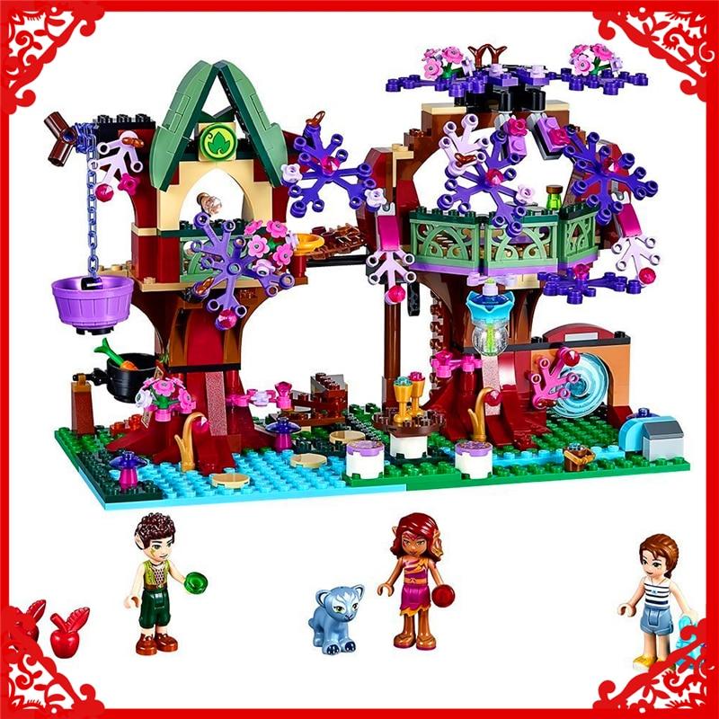 BELA 10414 Elves The Elves Treetop Hideaway Building Block 507Pcs Educational  Toys For Children Compatible Legoe<br>