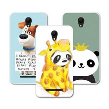 ZTE L110 Painted Soft TPU Dog Cat Bear Soft Phone Case ZTE Blade L110 / A110 4.0 inch Case Cover funda ZTE L 110 A 110+Gift