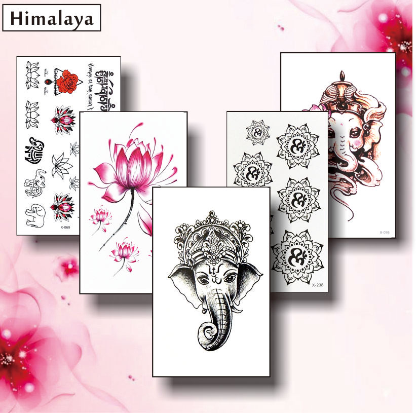 Aliexpress Buy 11 5 Pcs Set Temporary Tiny Tattoos Non