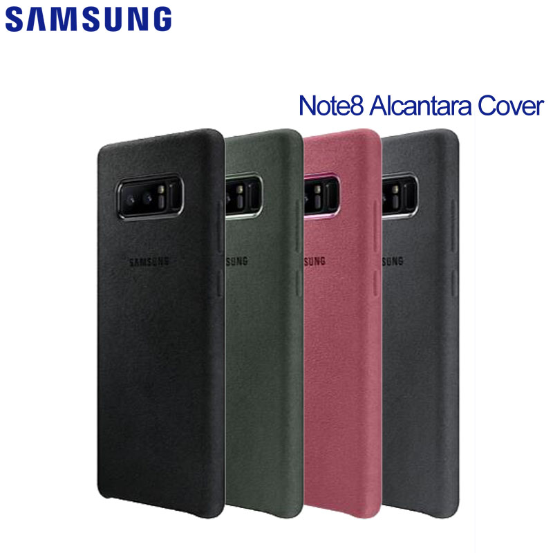 SAMSUNG  Phone Case for Samsung Galaxy Note8 N9500 N950F Note 8  Alcantara Cover Phone Case
