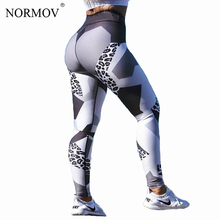 Buy NORMOV Sexy Leopard Print Leggings Women Pants Sporting Fitness Legging Fashion Workout Skinny Jeggings Digital Print Leggins for $7.08 in AliExpress store