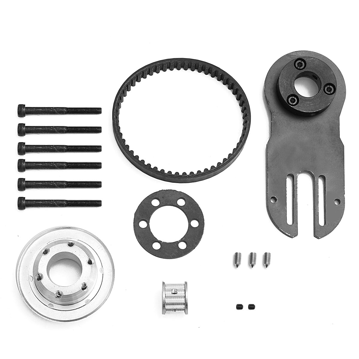 Mayitr Electric Skateboard Parts Pulleys Motor Mount Kit Tool for 83/90/97mm Wheels Skate Board Accessories