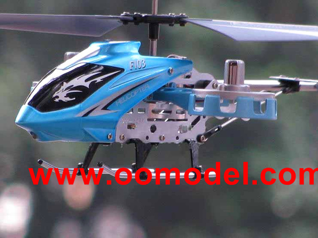F103 AVATAR 4CH Gyro LED Mini RC Helicopter Metal Track Shipping<br>
