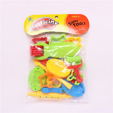 23 Pieces Color Play Dough Model Tool Toys Creative 3D Plasticine Tools Playdough Set Toy(China)