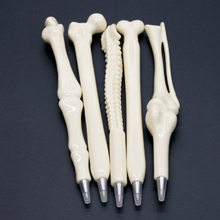 Creative Ball Point Pen Bone Shape Nurse Doctor Student Teacher Stationery Gift  6VB3