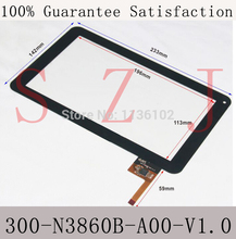Free ship 9inch case 300-N3860B-A00-V1.0 Ployer MOMO9 9 inches of Touch Screen Capacitance Screen Outer screen(China)
