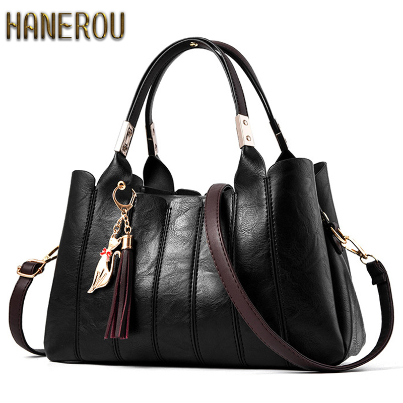 Casual PU Leather Women Bag Ladies Women Messenger Bags 2018 New Fashion Designer Handbags High Quality Famous Brands Tote Bag <br>
