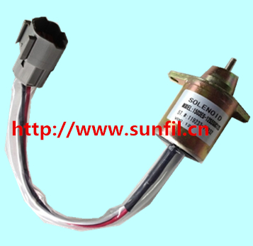 FUEL SHUT OFF SOLENOID 1503ES-12S5SUC12S,119233-77931,119233-77932 ,12V,3PCS/LOT free fast shipping<br>