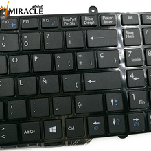 Repair You Life Laptop Keyboard for MSI GE60 GE60-2PL GE70 CX70 Spanish layout with frame replacement keyboard Original and New(China)