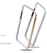 Ultra Thin Slim Bumper Case For iPhone 7 / 7 Plus Aluminum Metal Soft Silicone Side Protector Case Cover New Bumper For iPhone 7